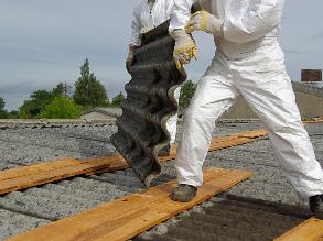 Asbestabbau